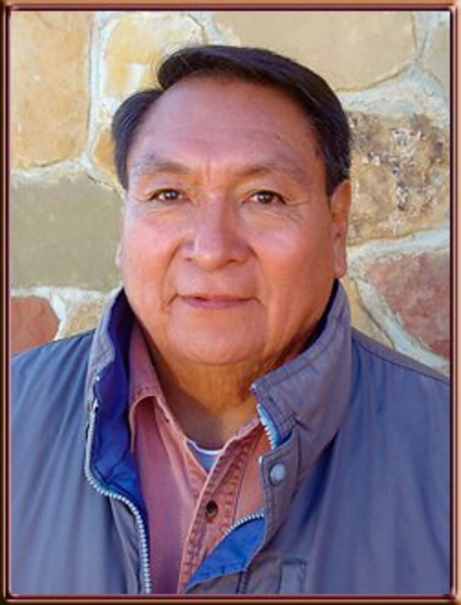 Hopi silversmith Loren Kootswatewa