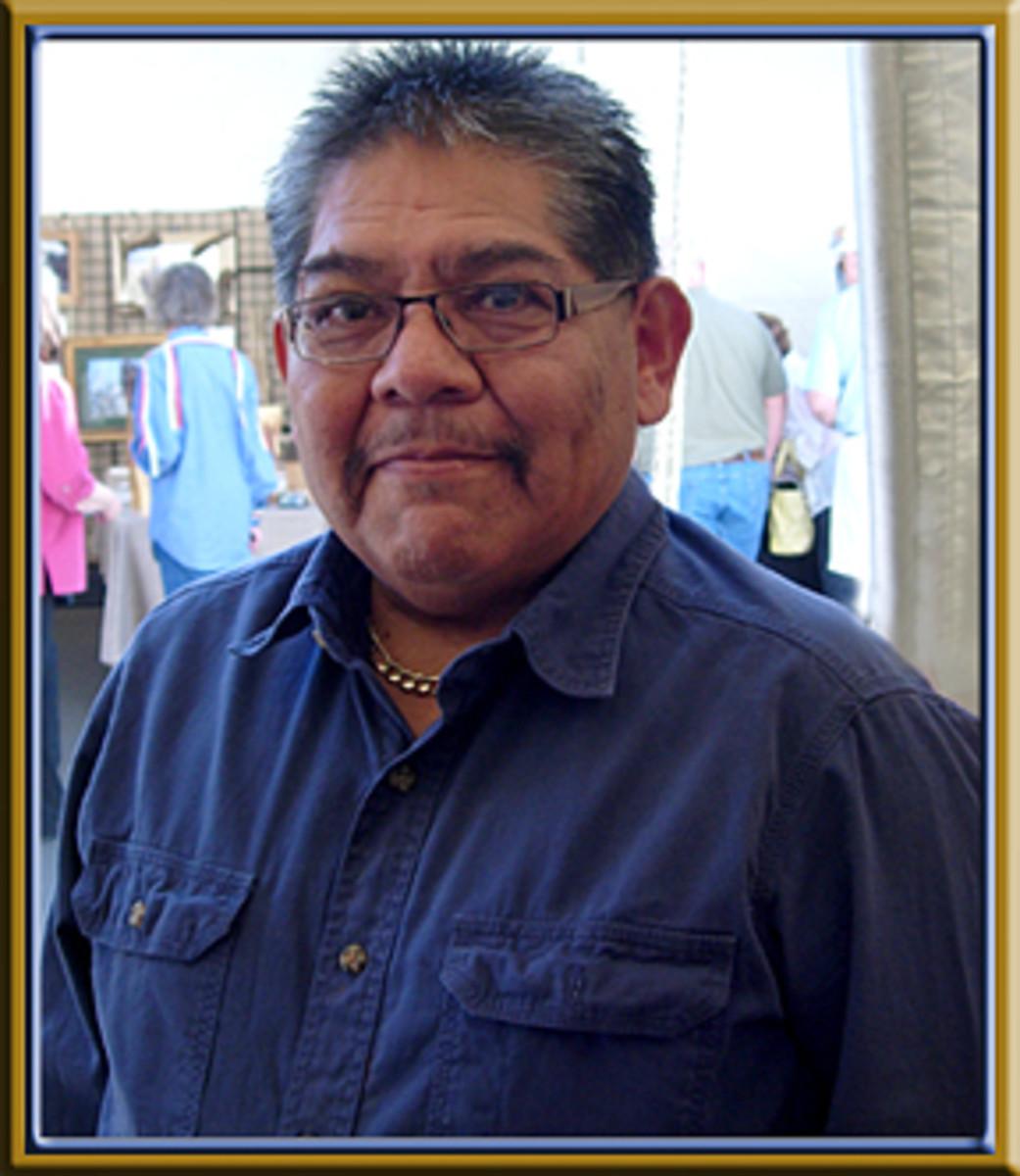 Hopi silver jeweler Watson Honanie