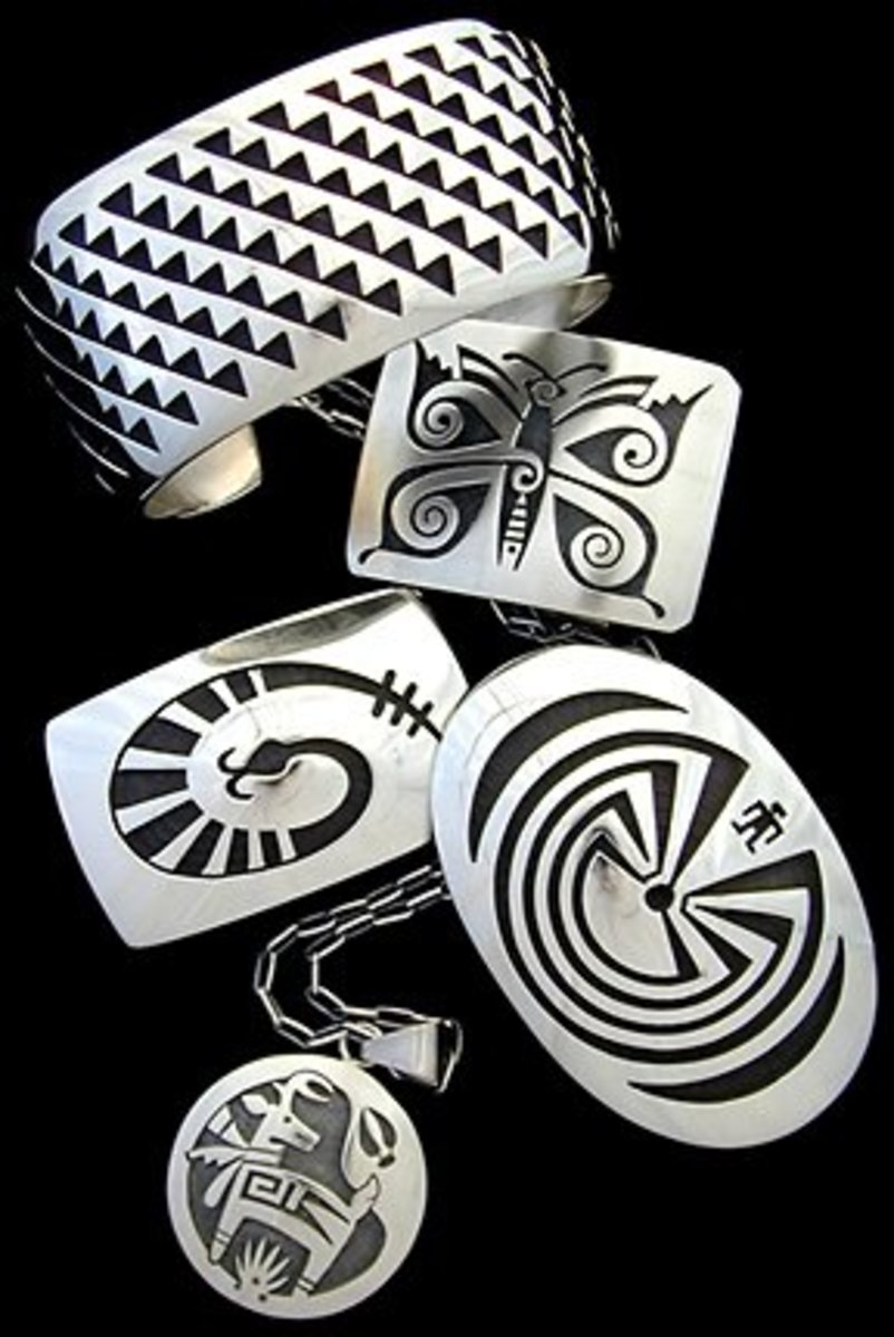 Hopi Silver Jewelry - A  Distinct Artistry