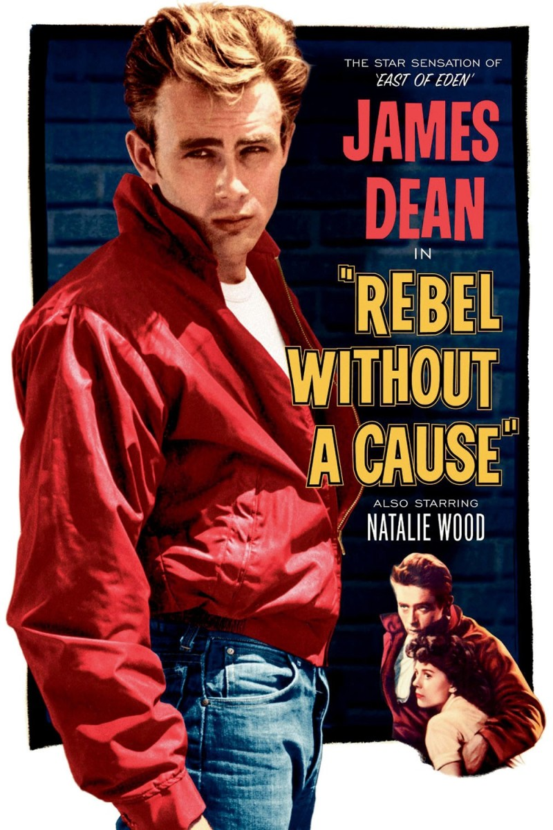 James Dean's role as Jim in Rebel Without a Cause remains one of the most iconic images in American cinematic history.