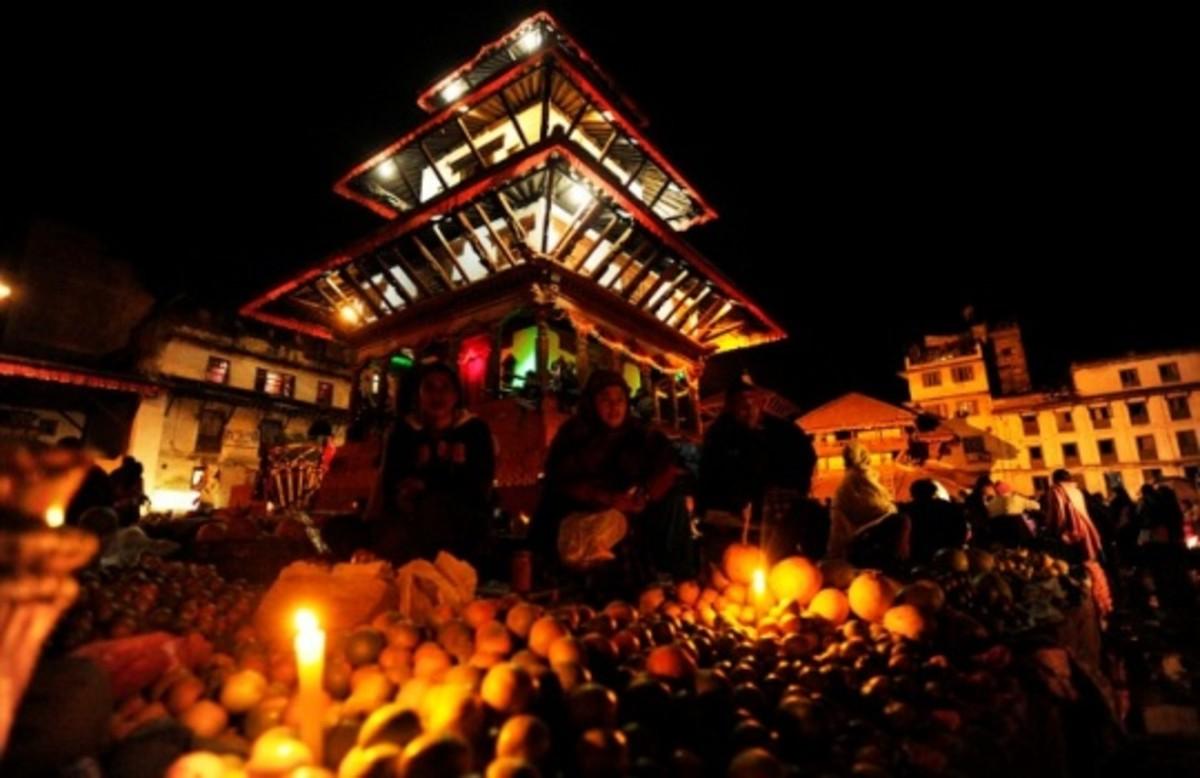 Diwali in Nepal