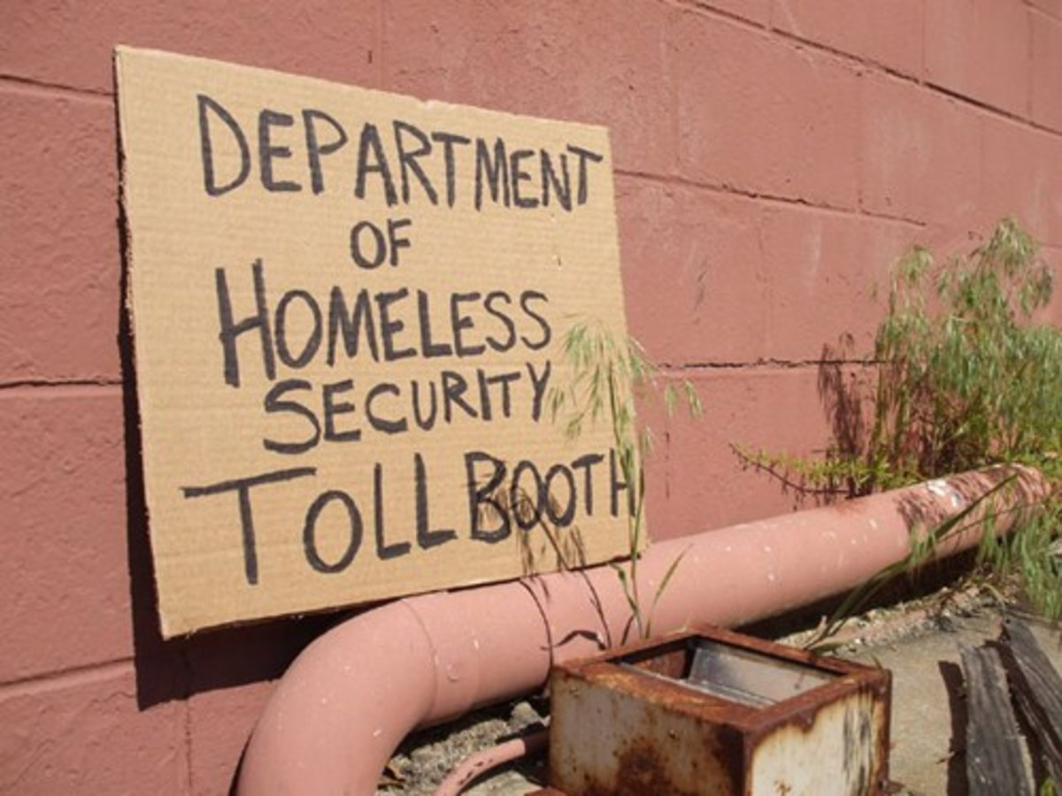 Department of Homeless Security Tool Booth