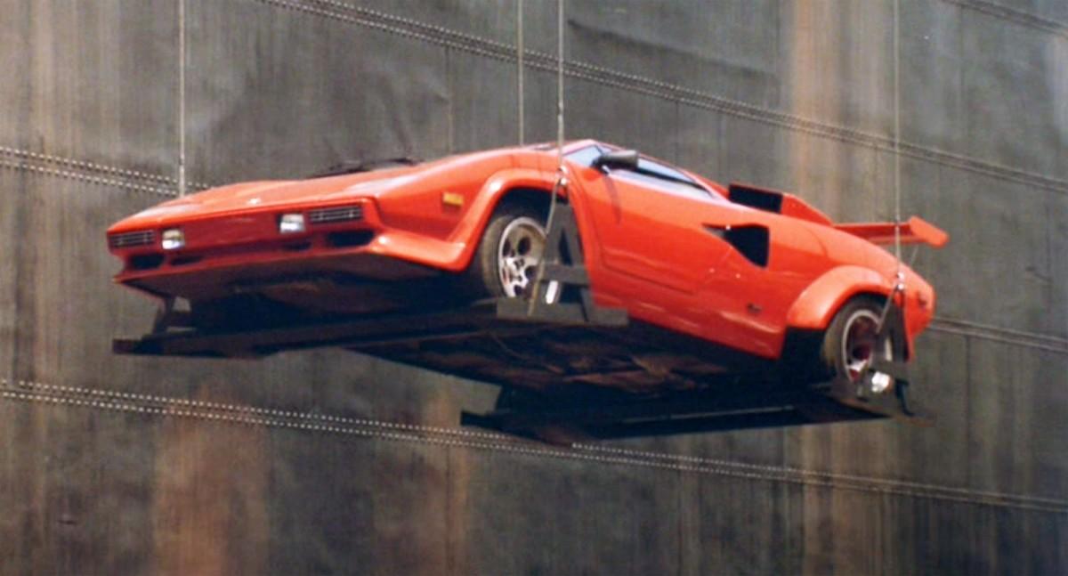 Lamborghini Countach from Rain Man (1988)