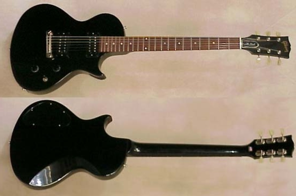 The Gibson Hawk guitar