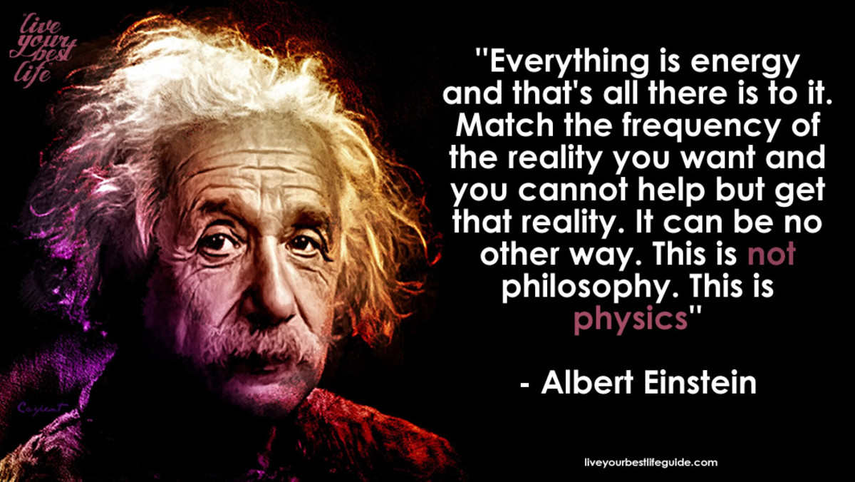 Albert Einstein already knew that the Law of Attraction is pure physics and no hocus-pocus. Donald J. Trump seems to know this as well.