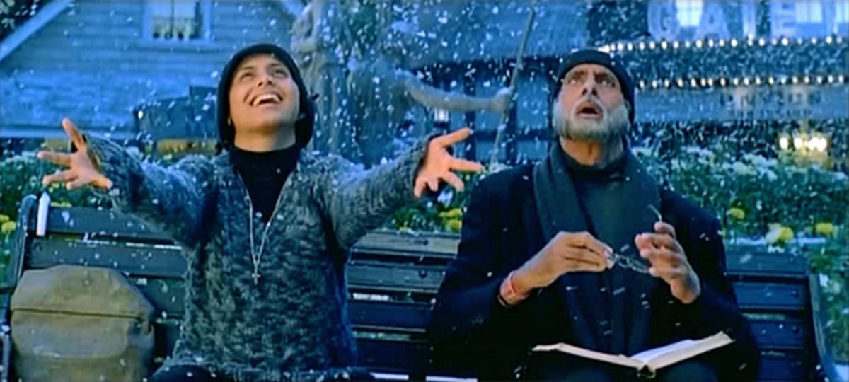 Rani Mukherji as Michelle McNally & Amitabh Bachchan as Debraj Sahai, Black (2005)