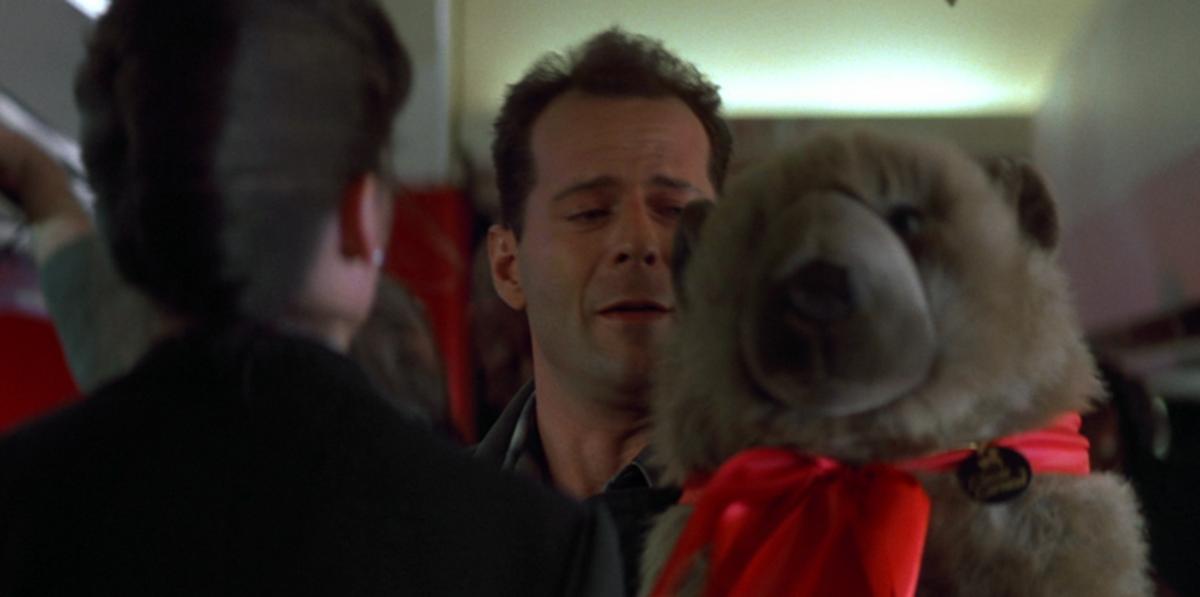 Bruce Willis as John McClane, Die Hard