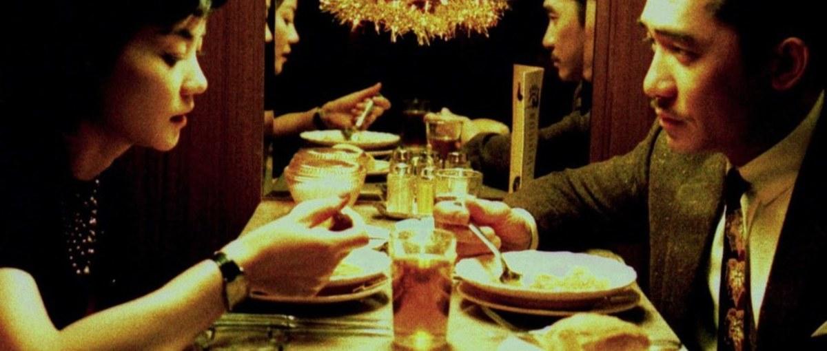 Faye Wong as Wang Jing-wen & Tony Leung as Chow Mo-wan, 2046