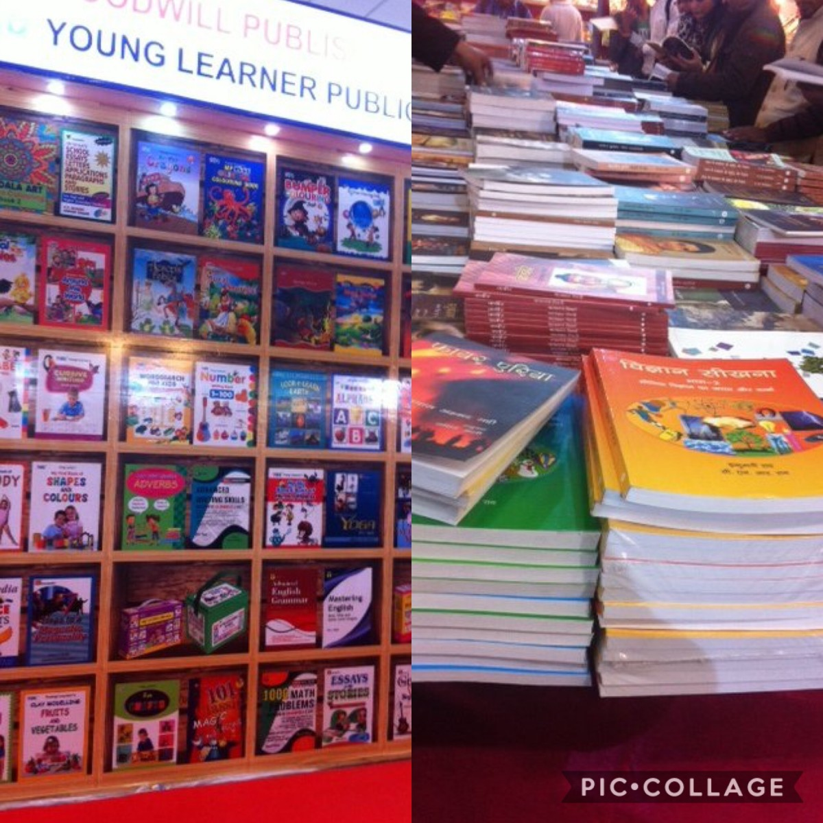 The beautiful sight of crisp and fresh print books at the World Book Fair, New Delhi.