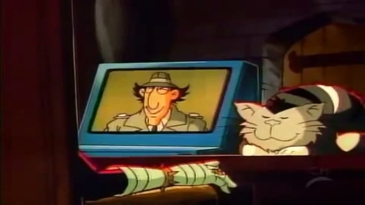 The man that does the voices of Dr. Claw and MAD Cat in most of the Inspector Gadget episodes is Frank Welker.