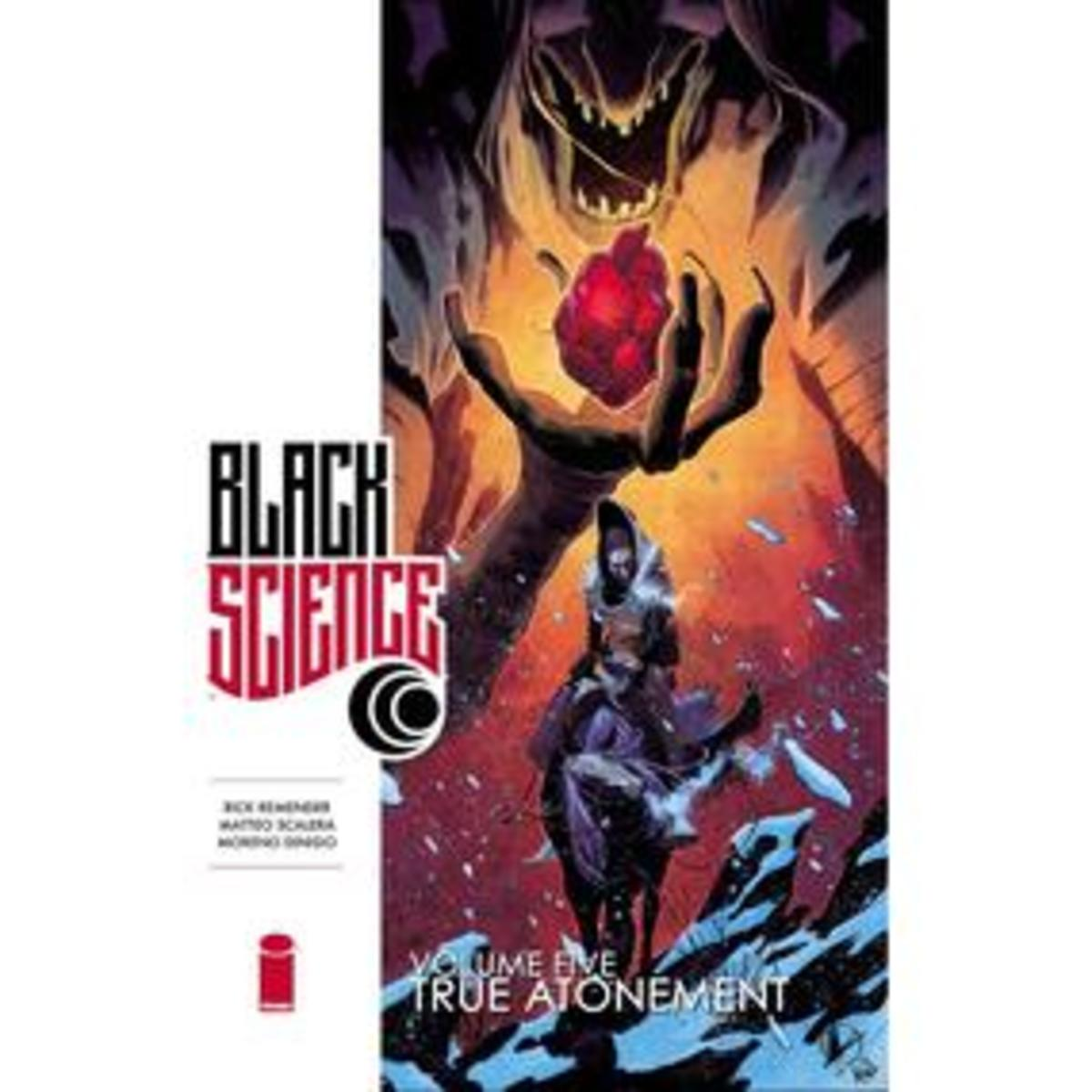 Cover art of Black Science, Volume 5.