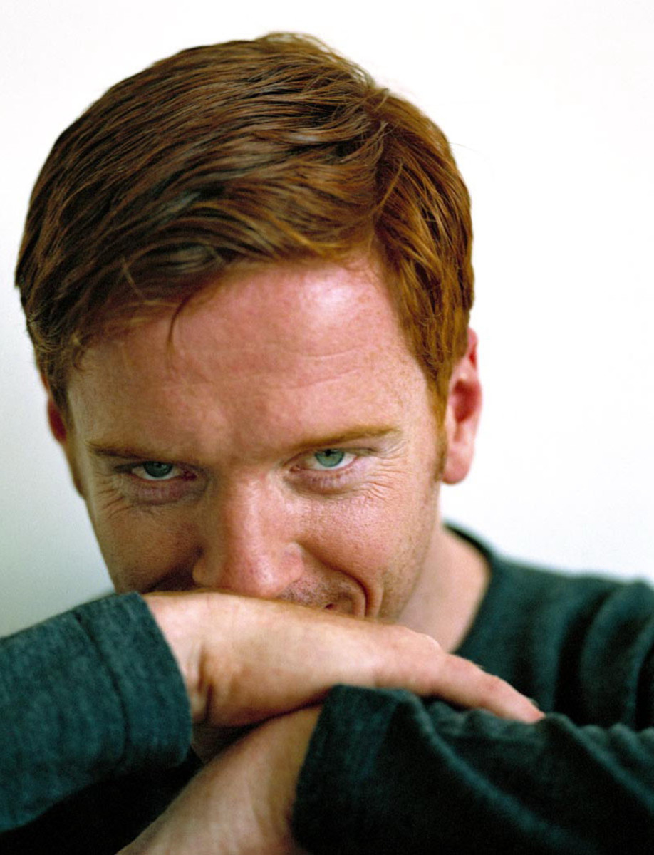 Damien Lewis red hair
