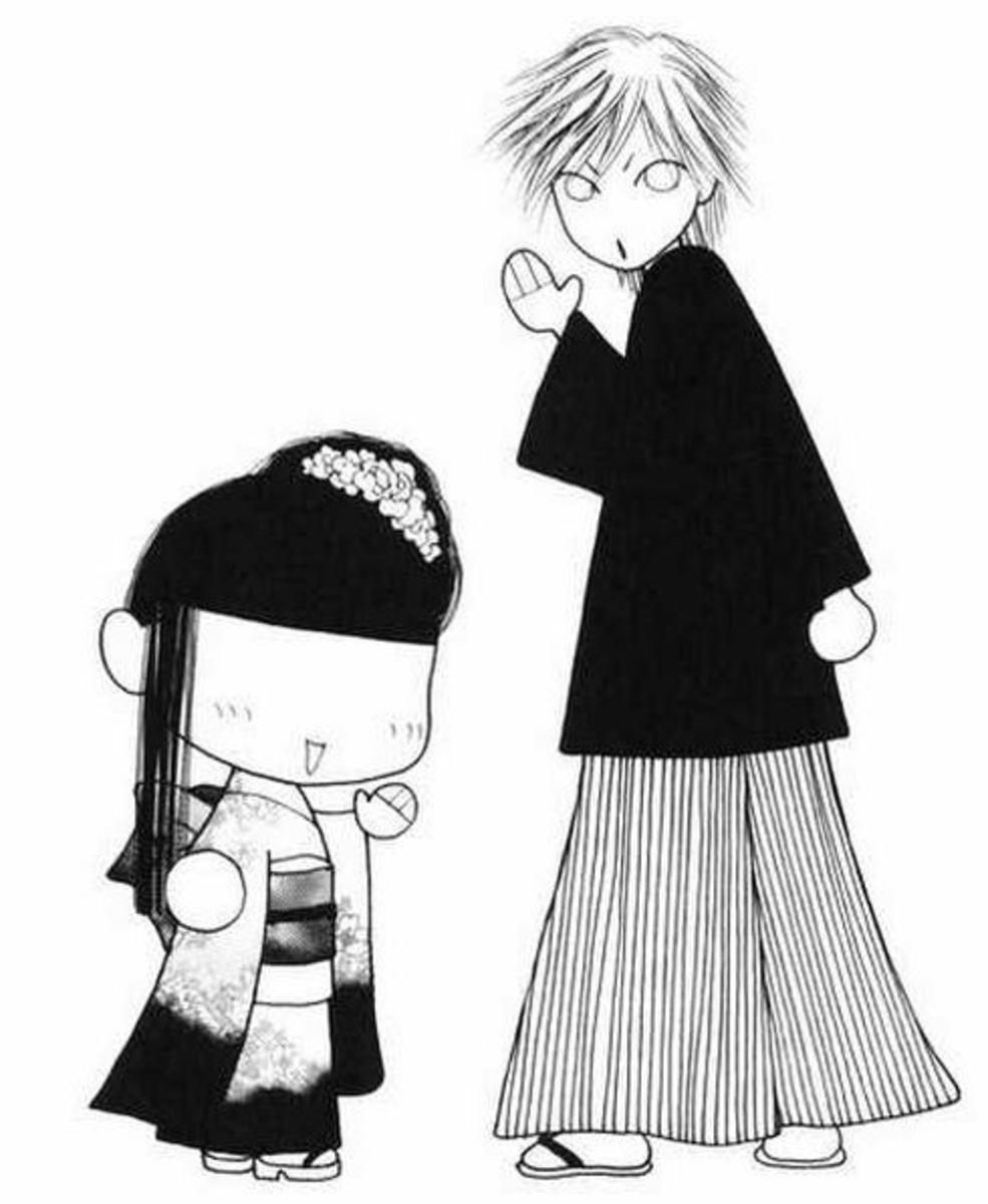 Sunako (normal form), Kyohei (being Kyohei)