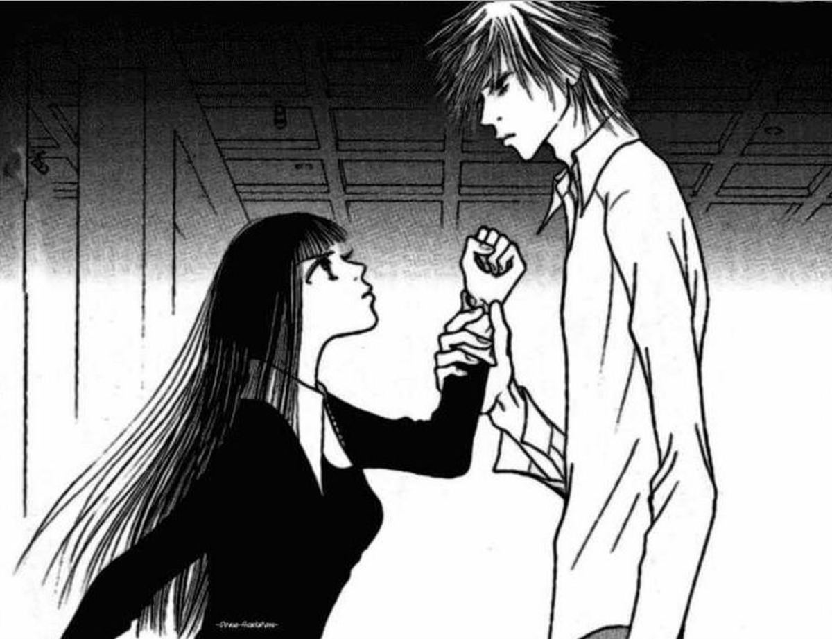 Sunako and Kyohei arguing