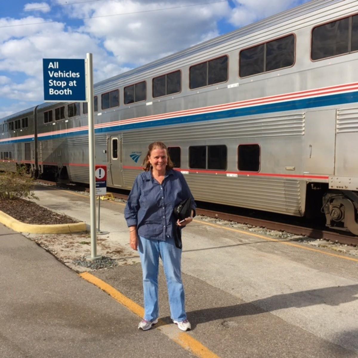 Auto Train Station in Sanford, FL