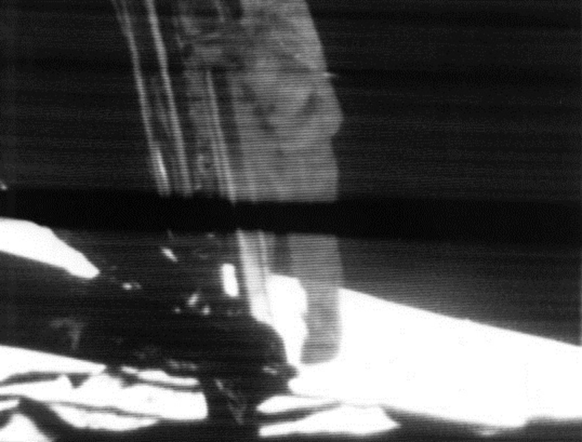 Conspiracy theorists believe the moon landing was filmed on a set