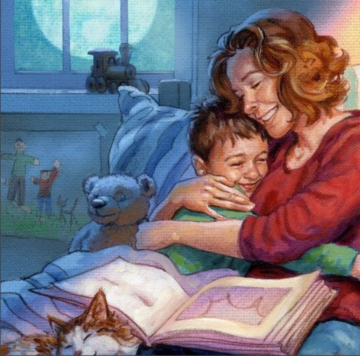 love cuddling with great bedtime stories