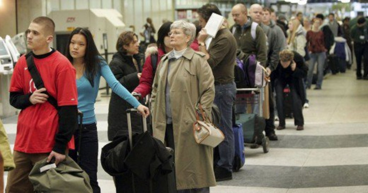 Don't get caught at the back of the boarding line!