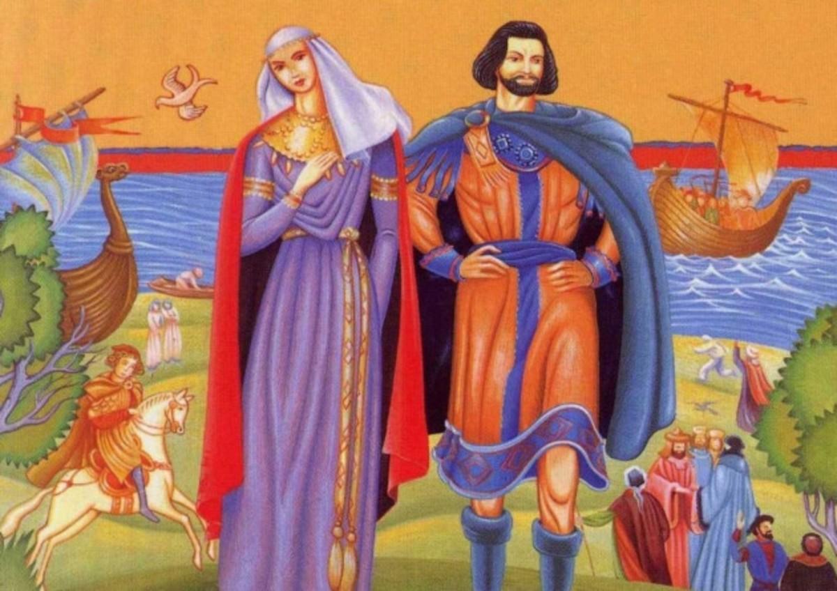 Godwin's Clan - 13: Harold's Daughter Weds a Prince - Gytha's New Life in Koenungagard With Valdemar