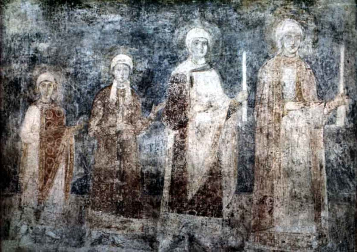 Ellisif - Elisaveta and her sisters, daughters of Jarolav 'the Wise', sister of Valdemar/Vladimir, (father of Msistislav Harold)