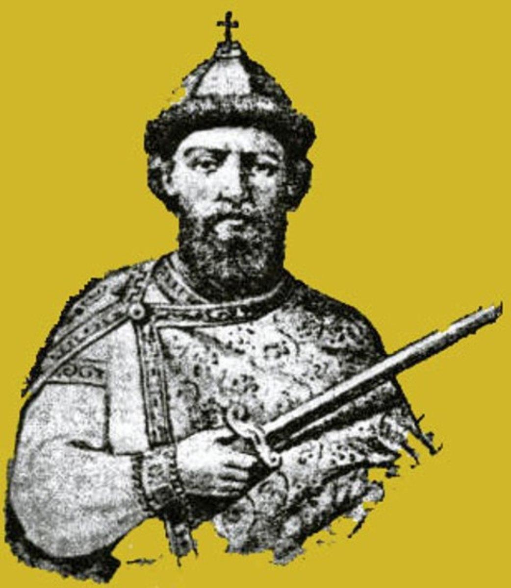 Gytha's son by Valdemar (Vladimir), Msistislav Harold - sire of several dynasties in northern Europe and Scandinavia down to the present Windsor dynasty