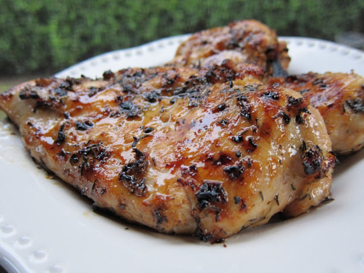 Grilled Chicken Recipe: Spicy Honey Garlic
