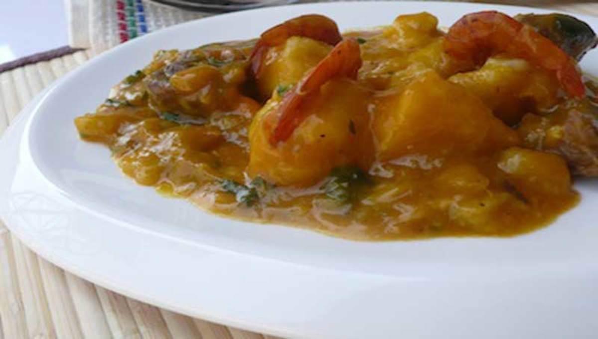 Oto-Water Yam Dumplings