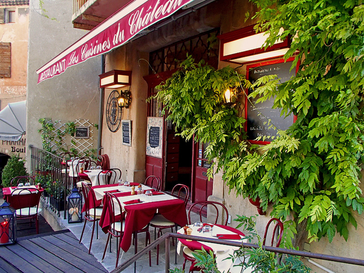 Another charming restaurant off the beaten path in southern France.