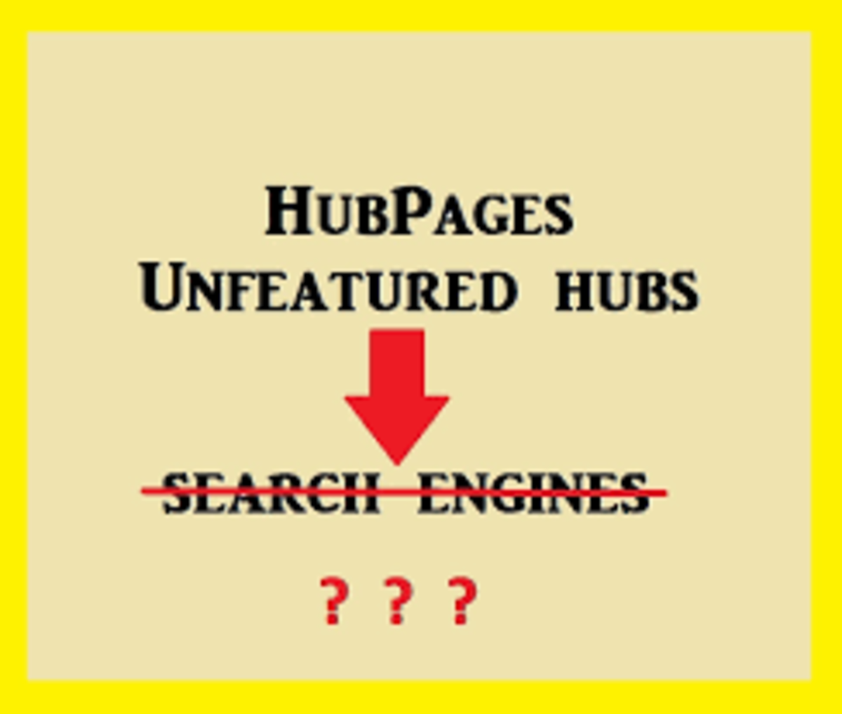 The Good Thing About 'Non Featured' items on Hubpages