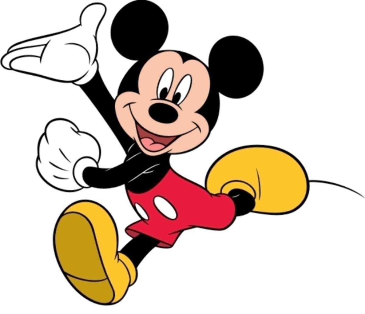 "Cartoons ""Mickey Mouse""."
