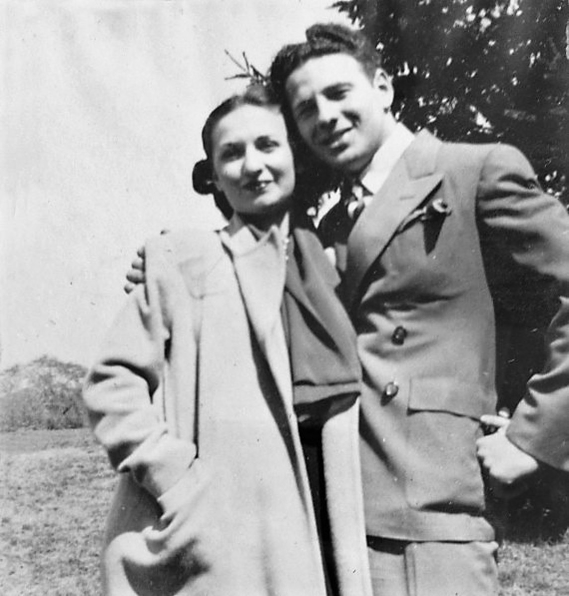 Nancy Wake and husband Henri Edmond Fiocca