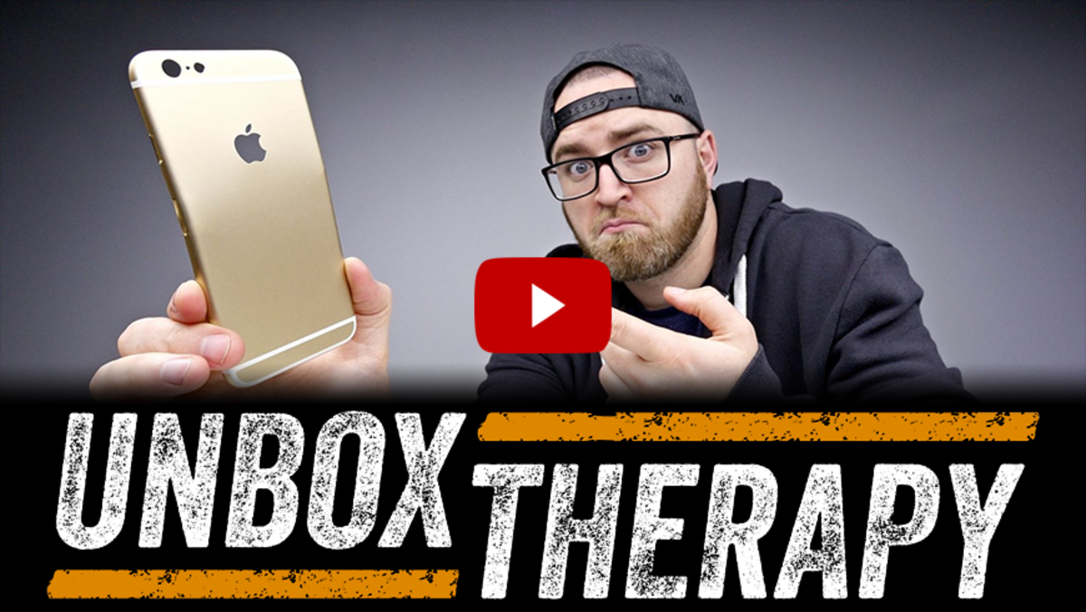 Unbox Therapy YouTube channel (our list hot spot) - 8 million subscribers