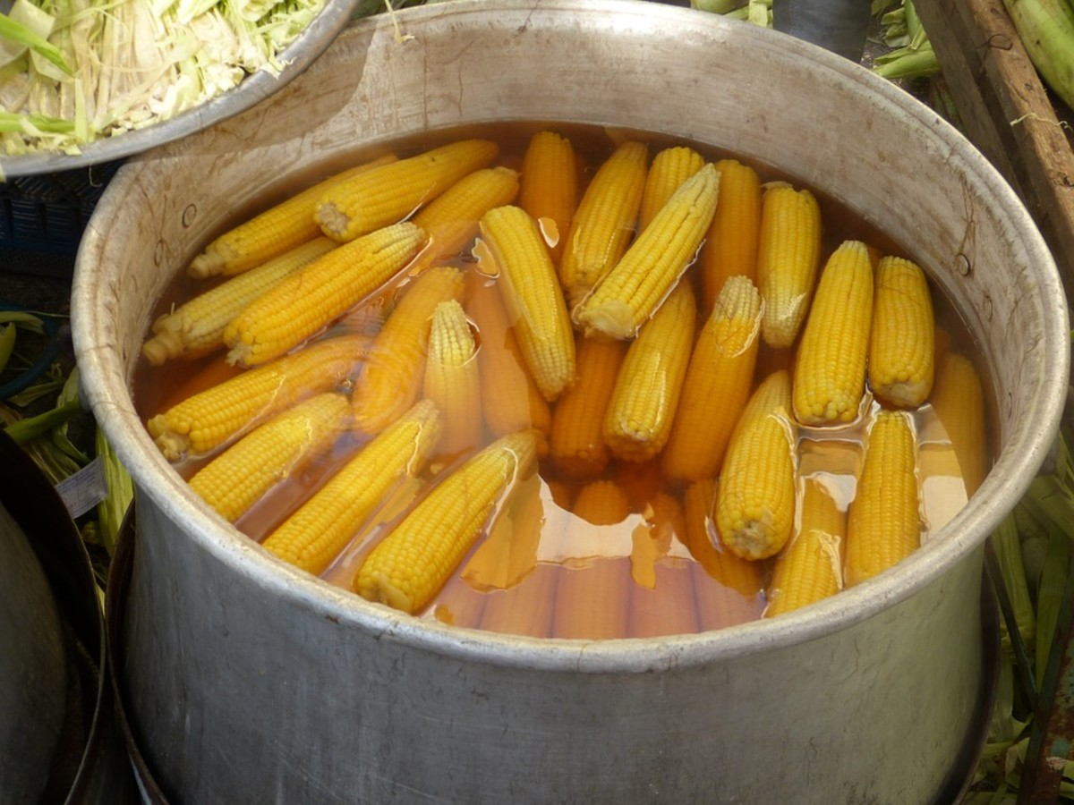 Cooking Corn on the Cob