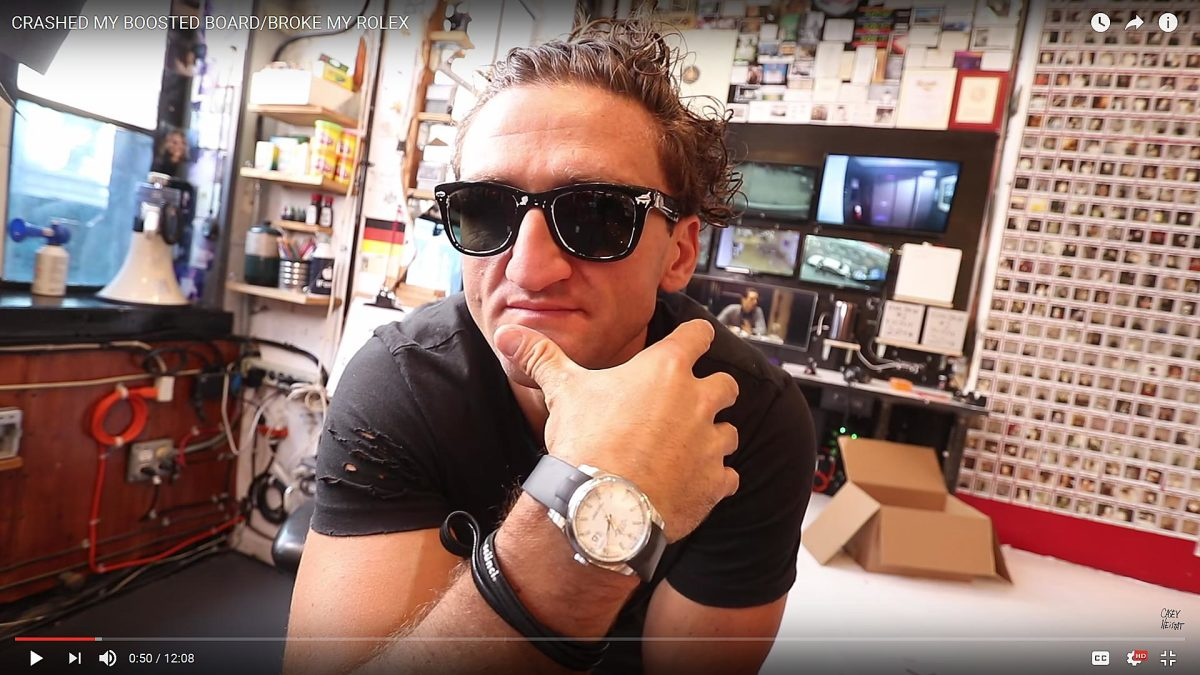 CaseyNeistat YouTube channel - 7 million subscribers