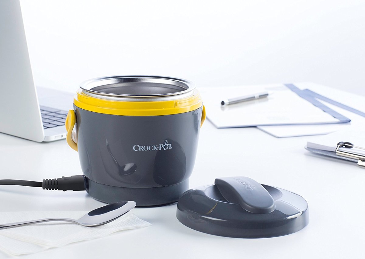 Take your Crock-Pot food warmer to work and heat your food up right at your desk.