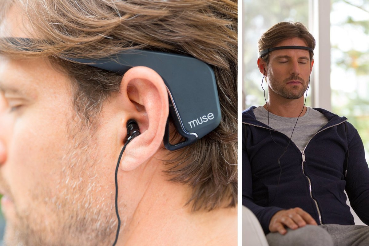 Fitness tracker for your brain that helps manage stress.