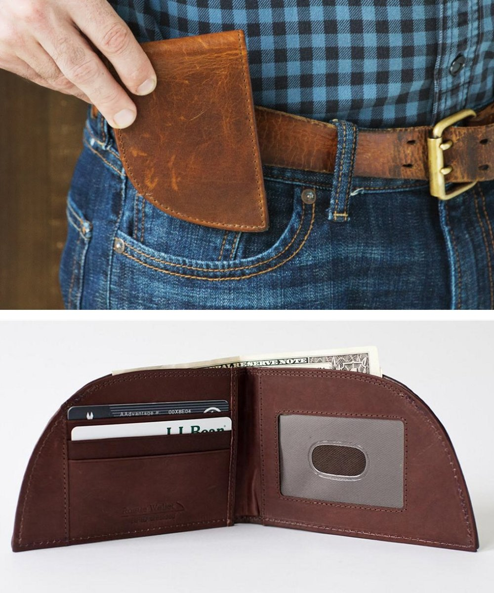 The Front Pocket Wallet is designed to be the most comfortable wallet you'll ever own.