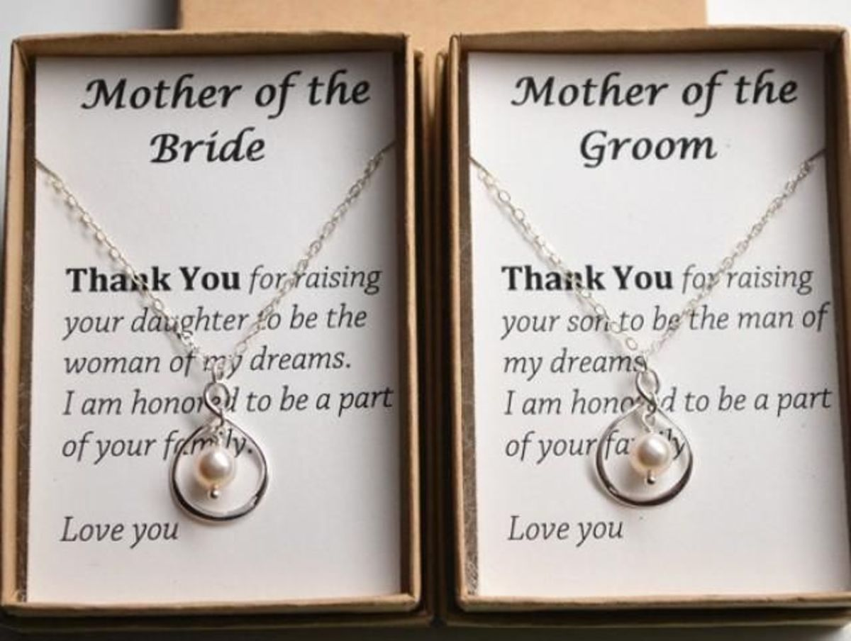 Gift Ideas for the Mothers of the Bride and Groom