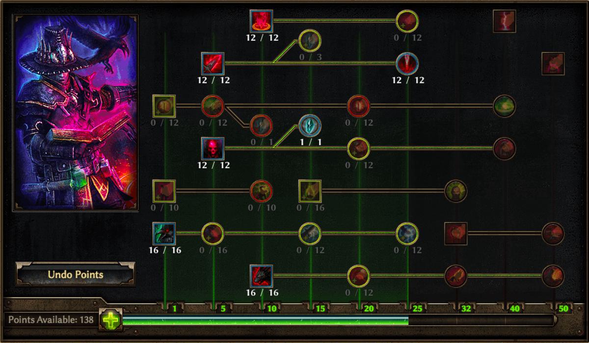 Occultist Skill Tree, Copyright Crate Entertainment