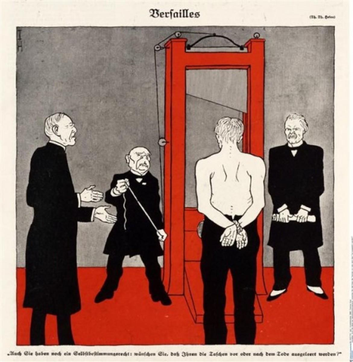 The Myth of French Vindictiveness Towards Germany at the Treaty of Versailles
