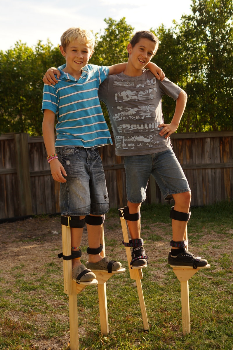Make a Pair of Stilts Kids Will Love