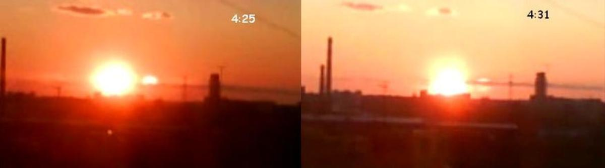 This photo clearly shows a Second Sun.