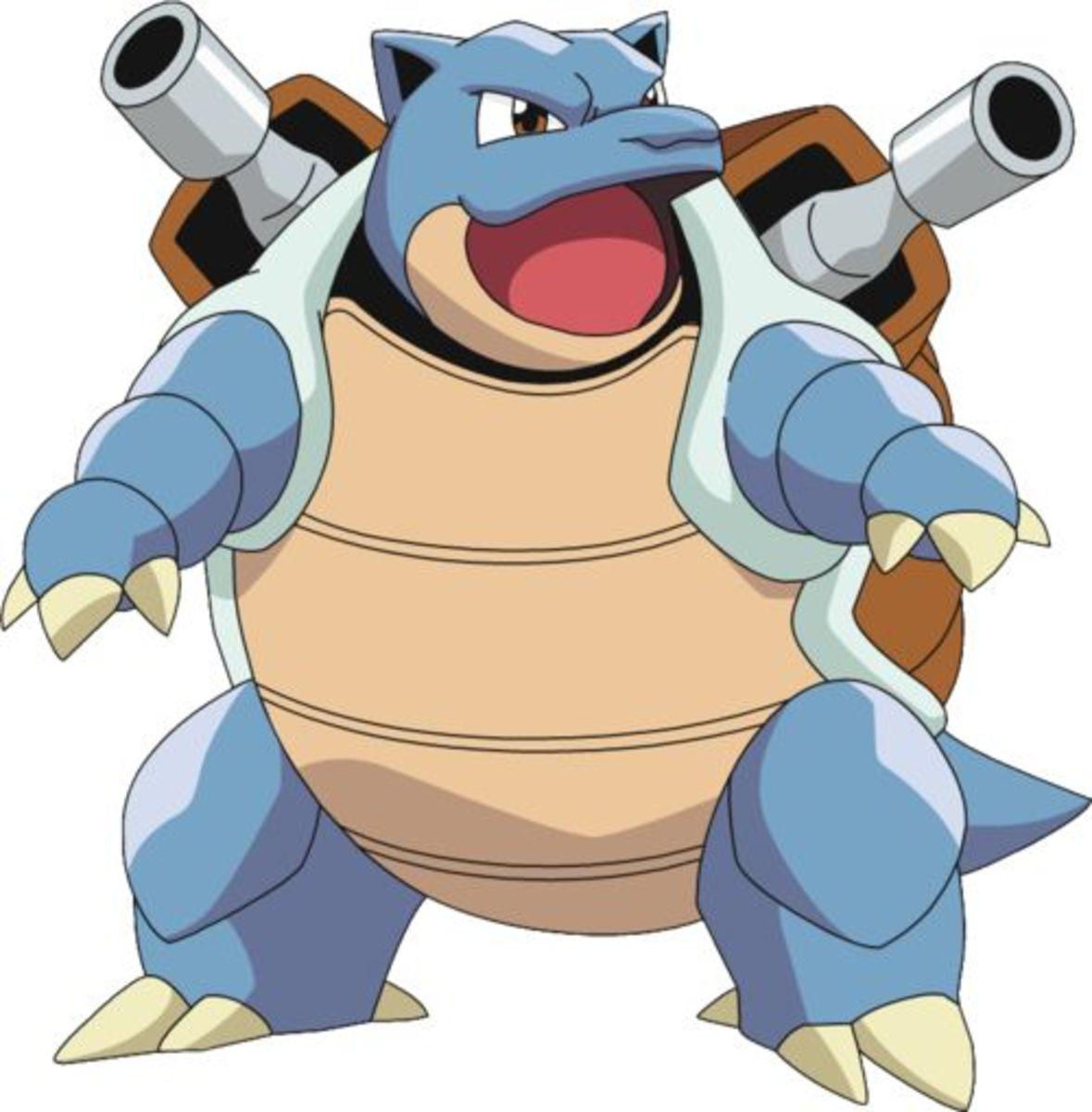 Pokémon: Blastoise Nicknames