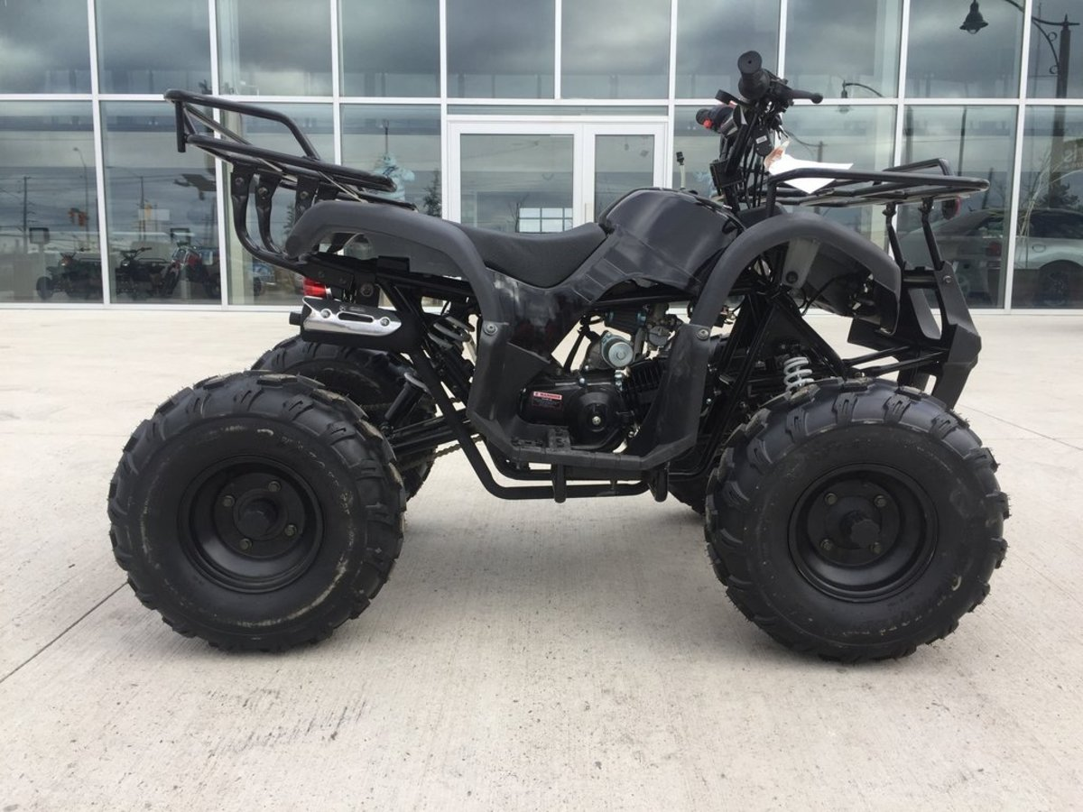 125cc Atv Quad Vtt Four-Wheeler: A Review