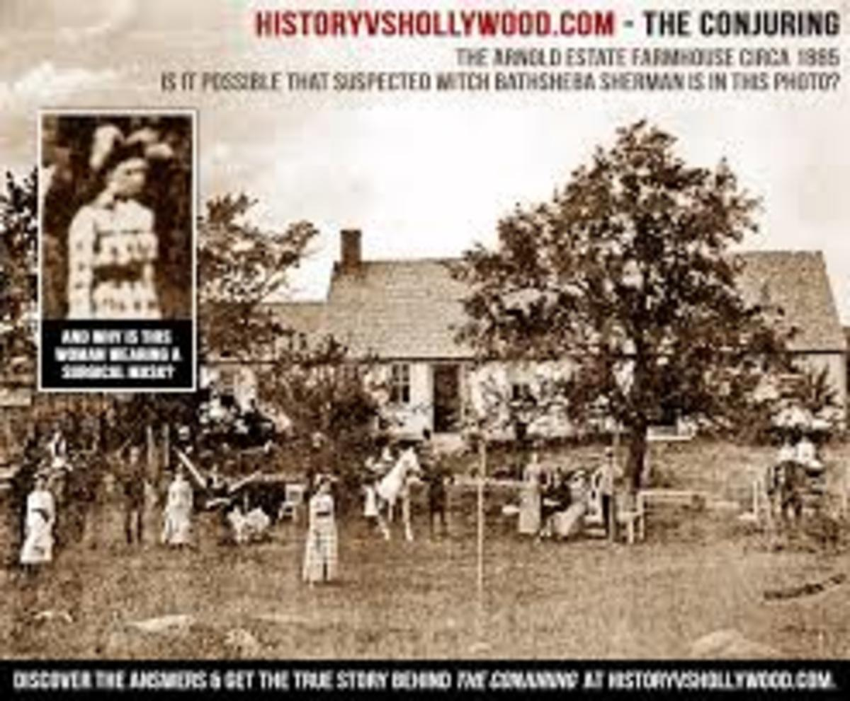 Farmhouse Home of the Sherman Family