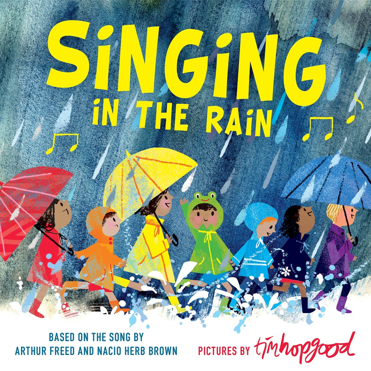 Singing in the Rain, illustrated by Tim Hopgood