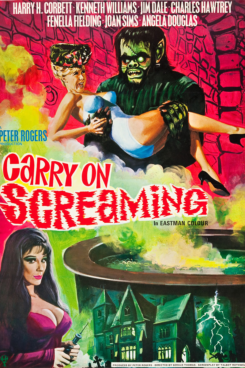 Carry On Screaming Film Review