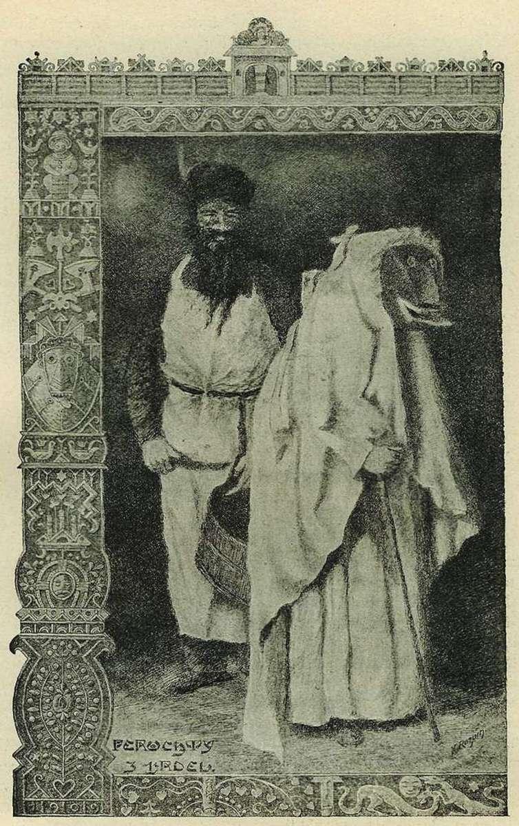 Perchta by Cenek Zibrt (1864-1932)