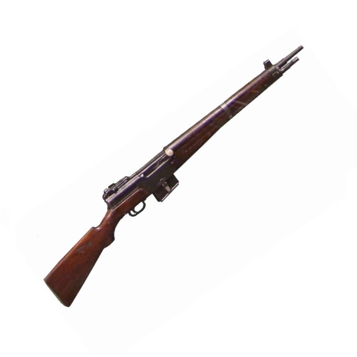 Although the MAS-49 was a post-war semi-automatic rifle, it was essentially just the French MAS-40 semiautomatic rifle.