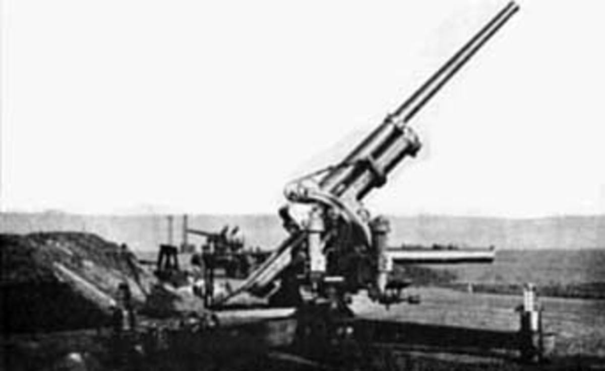 The French 90mm anti-aircraft gun.